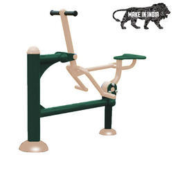 Mild Steel Combination Outdoor Fitness Horse Rider Station / Air Swing