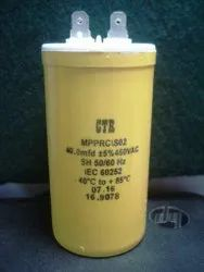 40 MFD / 450 VAC, 85'C  ( ELECT )  MPPRC/SO2, 70x40mm, 40/450AC Capacitor CTR