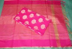 Fancy Cotton Top & Dupatta Set