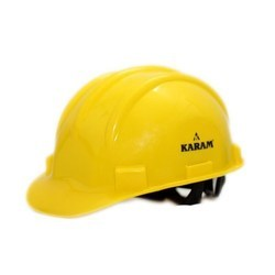 Karam PN-521 Safety Helmet Yellow Ratchet Type