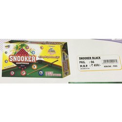 Snooker black