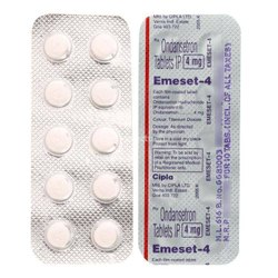Ondansetron 4mg Tablets