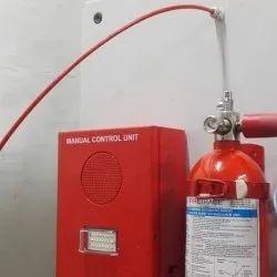 Master Control Unit Fire Suppression System