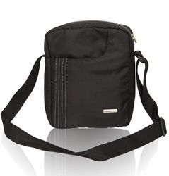 Black Sling Bag for Men