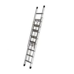 Wall Supported Extendable Aluminium Ladder