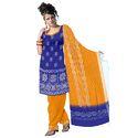 Bandhej Blue Designer Suit
