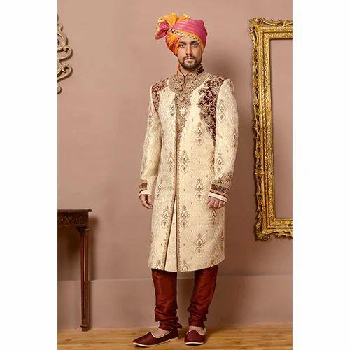 f49988403f5 Groom Sherwani, दूल्हे की शेरवानी, ग्रूम ...