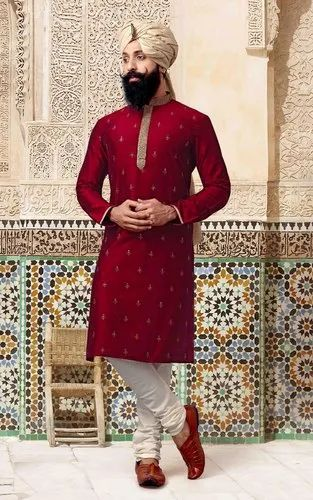 Red Casual Kurta Pajama for men  plus size available