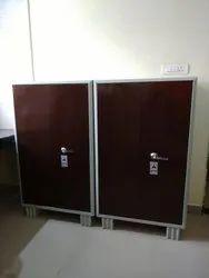 Double Door Steel Iron Cupboards, for Office