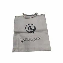 Grey Nylon Designer Jewelry Bag, 14 X 17 Inch