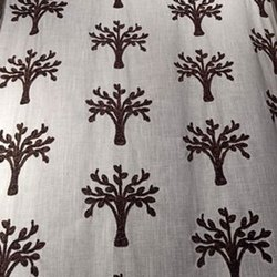 Linen Embroidery CURTAIN Fabric, 100-150