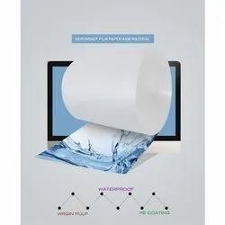 Plain White Paper Board Roll