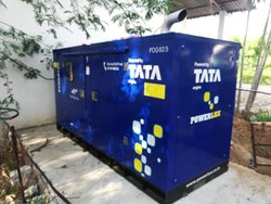 Silent or Soundproof Fully Automatic TATA Motor Diesel Generator
