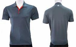 Adidas Men's Grey Polo T-Shirt