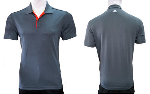 3be18653 Adidas Grey Men's Polo T-shirt, Rs 550 /piece, Vjm Industries | ID ...