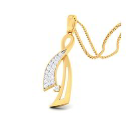Classic Designed Diamond Gold Pendents