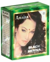 Amaira Black Henna, Pack Size: 10 gm X 6 Sachet, for Personal