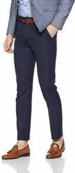 Linen Flat formal pant for man, hand and machine wash