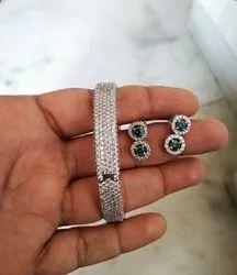 REAL DIAMOND BANGLES, 1 piece
