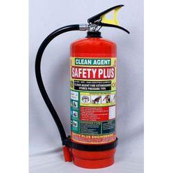 Safety Plus Mild Steel 6Kg Clean Agent Fire Extinguisher