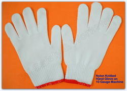 SS & WW Make Nylon Lint Free Knitted Seamless Gloves 10 Gauze