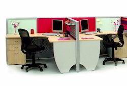 FKC L Office Furniture, Size: 1500X1500mm