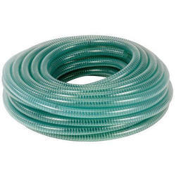 Green PVC Braided Pipe