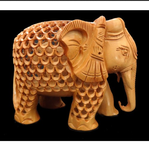 Sandalwood Elephant Statue Sandal Wood Crafts Swadi Handicrafts Bengaluru Id 16647963197 Elephant png & psd images with full transparency. sandalwood elephant statue