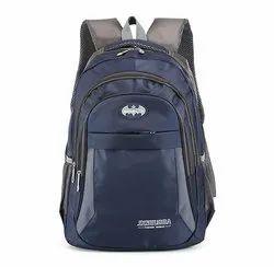 Blue School Backpack Bag