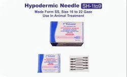 KSHAMA Stainless Steel Hypodermic Needle Veterinary, For Animal Treatment