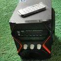 2.1 Black Zoom Star Nano Bluetooth Multimedia Speaker