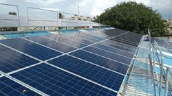 On Grid Solar Rooftop Grid Tie Power Plant