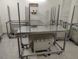 Aluminum Extrusion Table With Panel