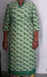 A-Line Multicolor Women Kurti