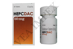 Hepcdac 60mg Daclatasvir Tablets