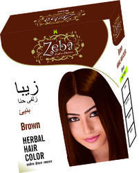 Brown Herbal Hair Color