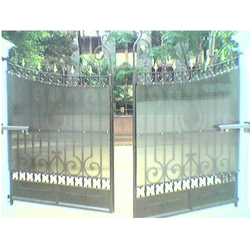 Swing Arm Motorized Gates