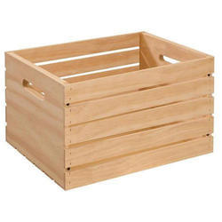 Soft Wood Square Wooden Box Pallet, For Goods Transport