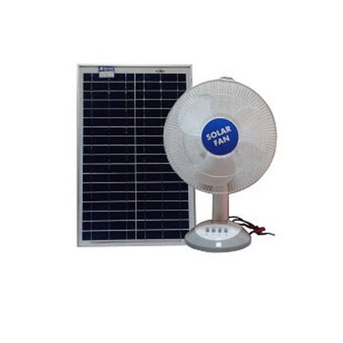 Solar Power Fan >> Solar Table Fan