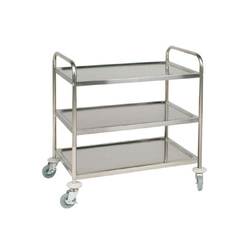 Stainless steel 3 Tier SS Trolley