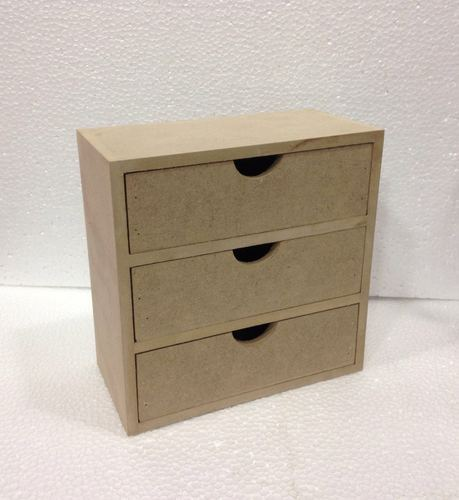 Mdf Wooden Plain Drawers