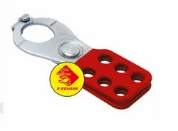 Lockout Tagout Vinyl Coated Small Lockout Hasp
