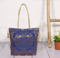 Silk Brocade Shoulder Bag