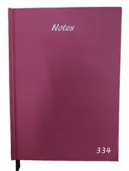 A/5 Note Book Diary 334