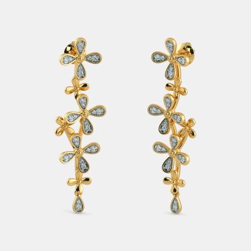cc826d51b02 Anniversary Golden Fashion Earrings