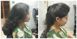 Wavy Hair Brown Ladies Hair Weaving In Gurgaon
