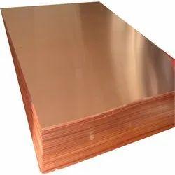 Copper sheet 10 m long. 0.1 x 50 mm