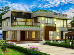 Residential Exterior Designing Services