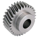 Metallic Silver Spur Gear