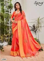Stylish Fancy Sana Silk Saree